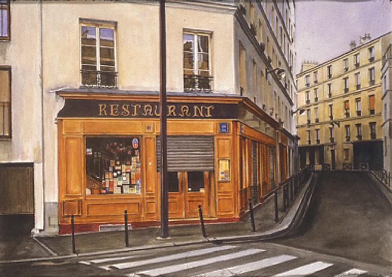 Restaurant Rue Victor Letalle Paris